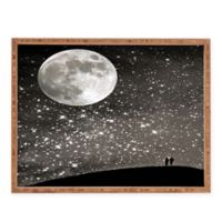 Deny Designs Love Under The Stars by Shannon Clark Large Rectangular Serving Tray