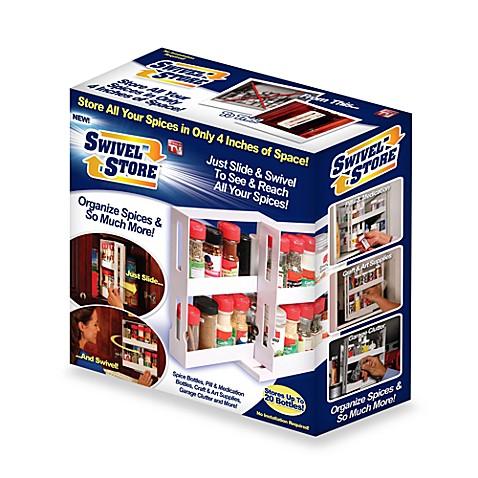 Attrayant Swivel Store™ Sliding Cabinet Organizer