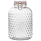 Home Essentials & Beyond Hobnail 162 oz. Clear Canister