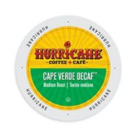 48-Count Hurricane Coffee & Tea Cape Verde Decaf Coffee for Single Serve Coffee Makers