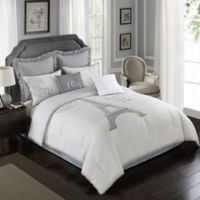 Farmhouse Paris 8-Piece King Comforter Set in Taupe