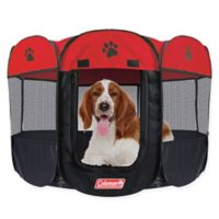 Coleman® Large Pop-Up Pet Playpen in Red