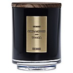 DW Home Sandalwood and Tonka Wood-Accent 19 oz. Jar Candle in Black