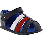 Tommy Hilfiger® Size 9-12M Fisherman Sandal in Navy