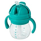 OXO Tot® Transitions 6oz. Straw Cup with Handles in Teal