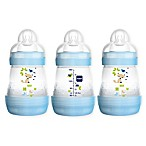 MAM 3-Pack 5 fl. oz. Anti-Colic Bottles in Blue