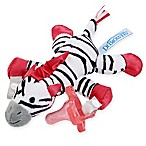 Dr. Brown's® Zebra Lovey Pacificer and Teether Holder in Pink