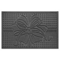 """Weather Guard™ Wrap It Up 23"""" x 35"""" Door Mat in Charcoal"""
