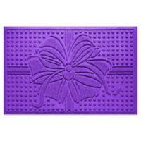 """Weather Guard™ Wrap It Up 23"""" x 35"""" Door Mat in Purple"""