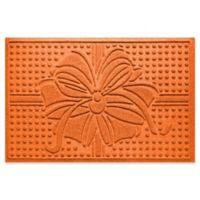 """Weather Guard™ Wrap It Up 23"""" x 35"""" Door Mat in Orange"""