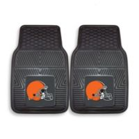 NFL Cleveland Browns Vinyl Car Mats (Set of 2)