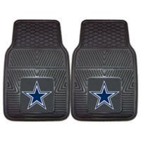 NFL Dallas Cowboys Vinyl Car Mats (Set of 2)