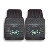 NFL New York Jets Vinyl Car Mats (Set of 2)
