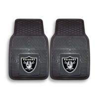 NFL Oakland Raiders Vinyl Car Mats (Set of 2)