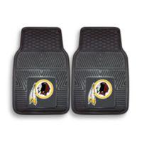 NFL Washington Redskins Vinyl Car Mats (Set of 2)