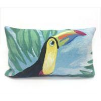 Liora Manne Toucan Sky Oblong Indoor/Outdoor Throw Pillow