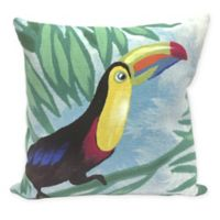 Liora Manne Toucan Sky Square Indoor/Outdoor Throw Pillow