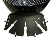 Grill Daddy BBQ Tool Caddy in Black