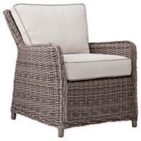 Southern Enterprises 2-Piece Avadi Outdoor Chair Set in Brown