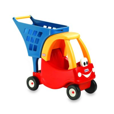 Little Tikes™ Cozy Shopping Cart in Red/Yellow