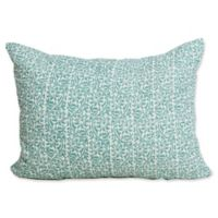 Gwen Standard Pillow Sham in Lagoon