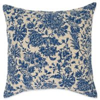 Cece European Pillow Sham in Indigo