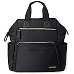 SKIP*HOP® Mainframe Wide Open Backpack Diaper Bag in Black