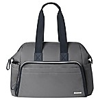 SKIP*HOP® Mainframe Wide Open Diaper Satchel in Slate