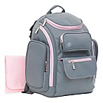 J is for Jeep® Places & Spaces Backpack Diaper Bag in Pink/Grey