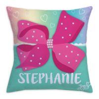 JoJo Siwa™ Bow Throw Pillow in Pink