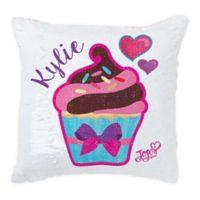 JoJo Siwa™ Sequin Cupcake Throw Pillow