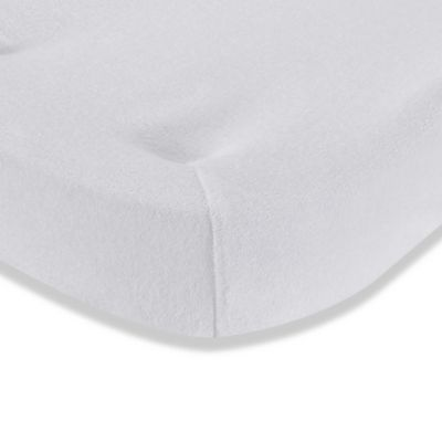 Changing Pad Covers U003e LA Baby® Terry Cocoon Changing Pad Cover In White