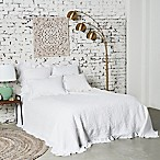Dabney Queen Quilt in White