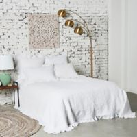 Dabney King Quilt in White