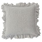 Dabney European Pillow Sham in Grey