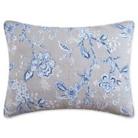 Annabelle Standard Pillow Sham in Blue