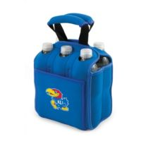 Picnic Time® University of Kansas Activo Collegiate Six Pack Tote in Blue