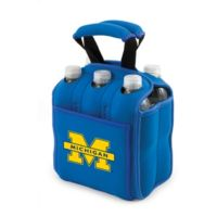 Picnic Time® University of Michigan Activo Collegiate Six Pack Tote in Blue