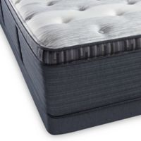 Beautyrest Platinum Haven Pines Plush Pillow Top Low Profile California King Mattress Set