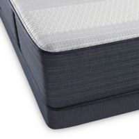 Beautyrest® Platinum™ Crestridge™ Plush Low Profile Queen Mattress Set