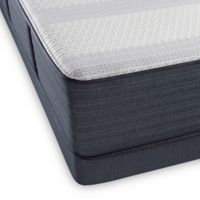 Beautyrest® Platinum Hybrid Crescent Valley Luxury Firm Low Profile Queen Mattress Set