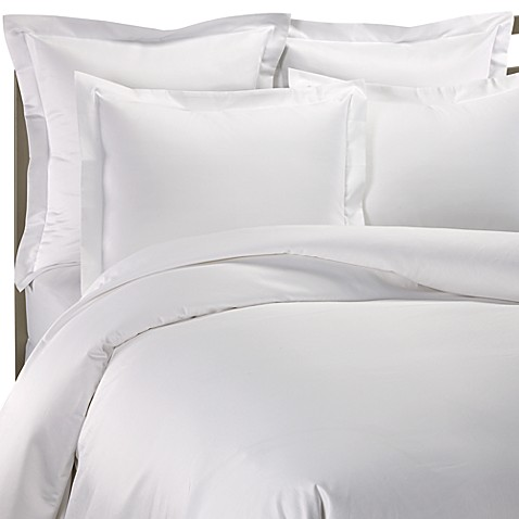 1000 Thread Count King Duvet Cover in White