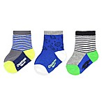 OshKosh B'Gosh® Size 3-12M Outer Space Socks