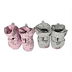 Sterling Baby 2-Pack Heart Booties