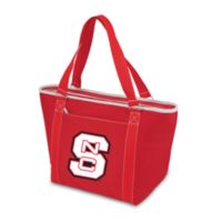 Picnic Time® North Carolina State Collegiate Topanga Cooler Tote in Red