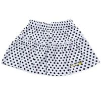 EZ-On BaBeez™ Size 12-18M Dot Ruffled Skirt in Black/White