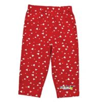 EZ-On BaBeez™ Size 9-12M Heart Pull-On Pant in Red