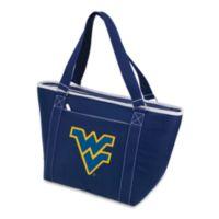 Picnic Time® West Virginia University Collegiate Topanga Cooler Tote in Navy Blue