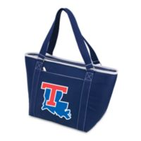 Picnic Time® Louisiana Tech Collegiate Topanga Cooler Tote in Navy Blue