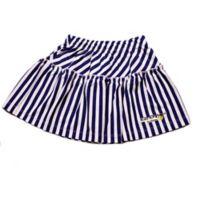 EZ-On BaBeez™ Size 12-18M Stripe Ruffled Skirt in Lapis/White